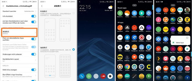 Alpha development, drawer application, MIUI, MIUI Application drawer, MIUI Launcher in Alpha development, news on xiaomi, technology news, the app, the news, Xiaomi news,