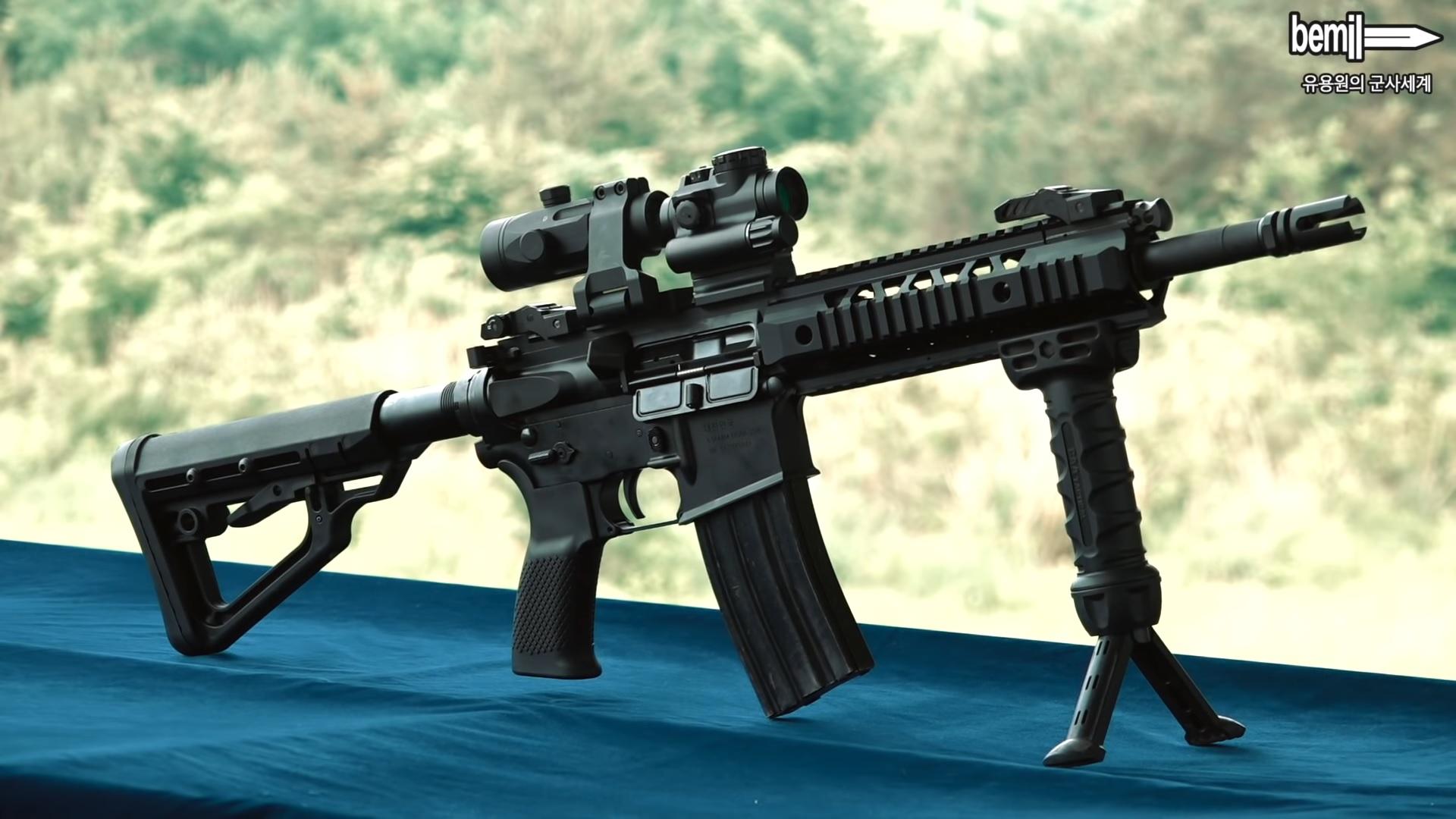 AAG_th บันทึกประจำวัน: ปืนเล็กสั้น Dasan DSAR-15PC ถูกเลือกสำหรับ หน่วยรบพิเศษกองทัพบกเกาหลีใต้