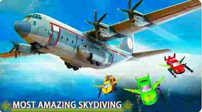 Terjun Payung Penerbangan Mobil Pengganti: Udara