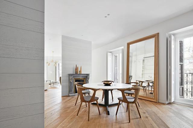 Дизайнерские проекты. Буржуазное ретро в испанской квартире
