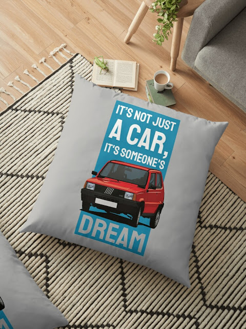 It's not just a car, it's someone's dream - Fiat Panda 45 gift