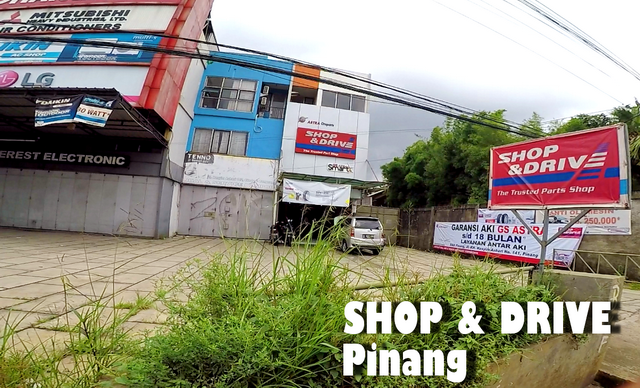 Alamat Shop&Drive Pinang dan Jaringan Shop&Drive di Indonesia