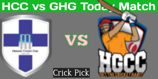 HCC vs GHG Today Match | Finnish Premier T20 League | Who Will Win Today