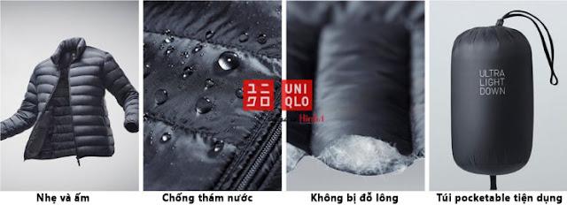 Chất liệu áo khoác giữ nhiệt Uniqlo Nhật Bản