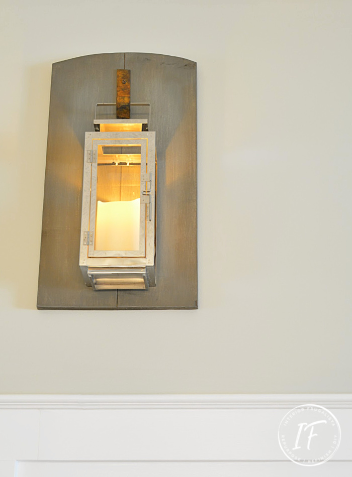 Wood Candle Sconce Lanterns