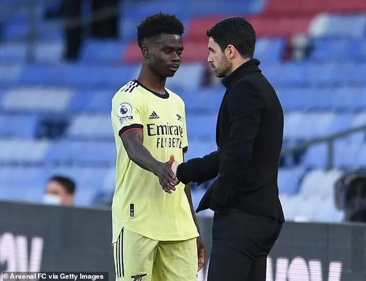 Mikel Arteta urges England boss Gareth Southgate to look after Bukayo Saka at Euro 2020
