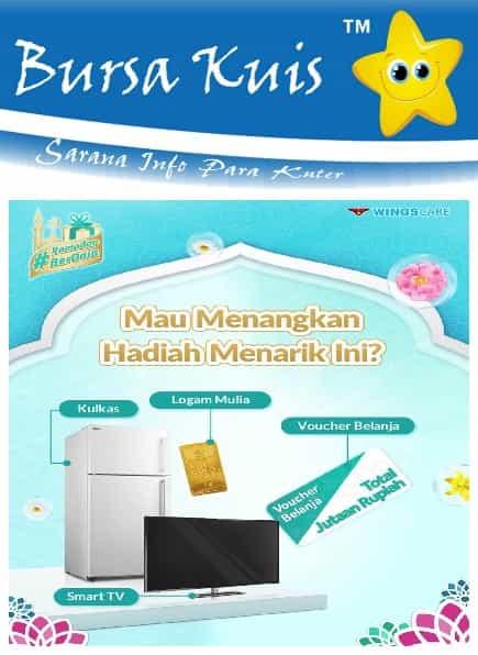 Kuis Online Terbaru dari Detergent Daia