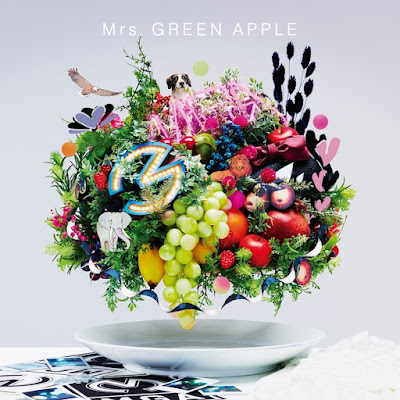 Mrs. GREEN APPLE - 5 greatest hits album details info CD DVD Blu-ray tracklist 5th anniversary