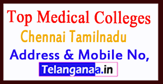 Top Medical Colleges in Chennai Tamilnadu