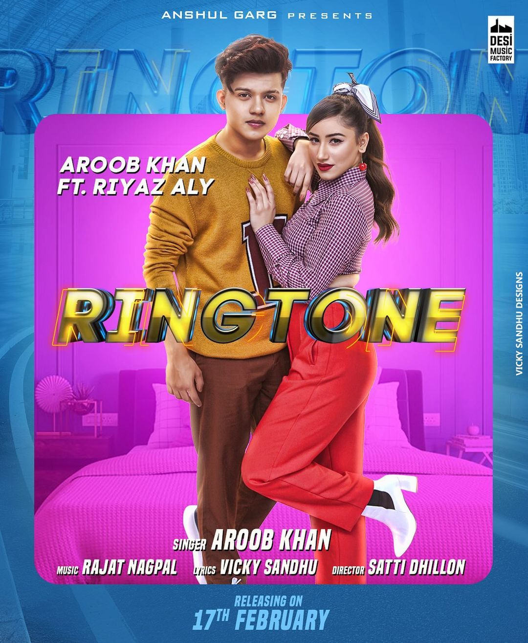 "Aroob Khan new song ""RINGTONE"""
