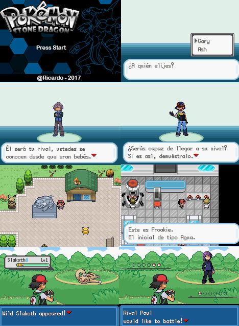 Pokemon Stone Dragon GBA ROM Download