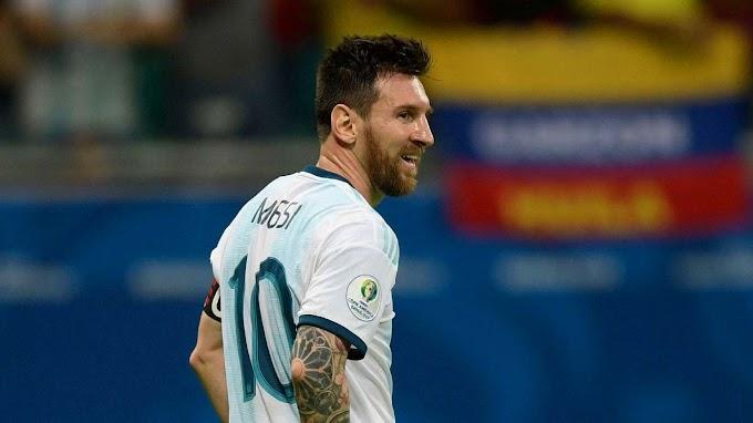 'Temos que levantar a cabeça e seguir', diz Messi após derrota em Salvador