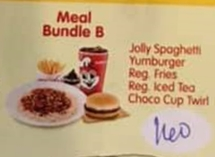 Jollibee Party Meal Bundle B