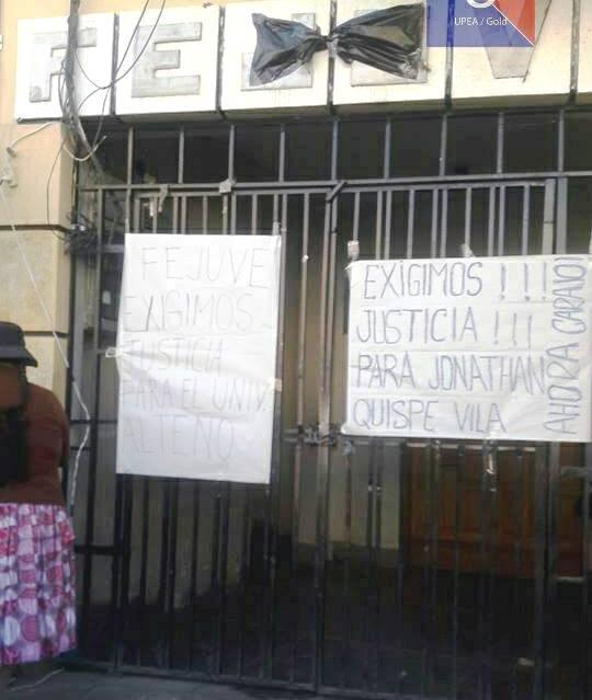 UPEA logró que las dirigencias aliadas al MAS vuelvan a defender intereses de El Alto / FACEBOOK UPEA GOLD