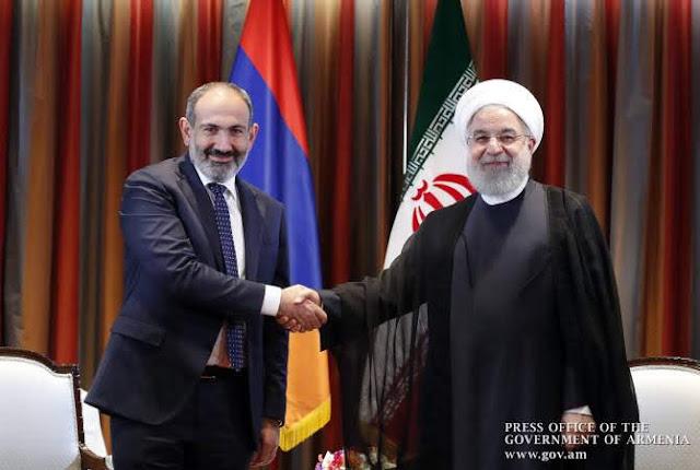 El presidente iraní visitará Armenia pronto