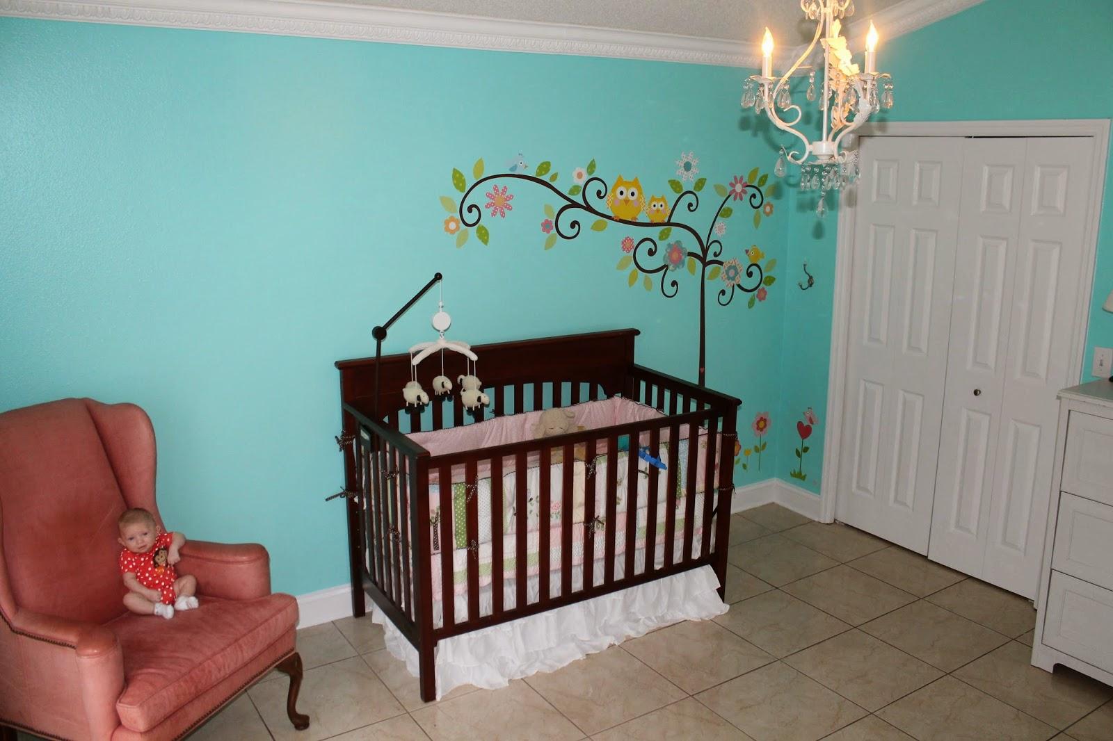 Lady Baby S Tiffany Blue Nursery
