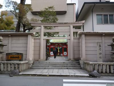坐摩神社裏門