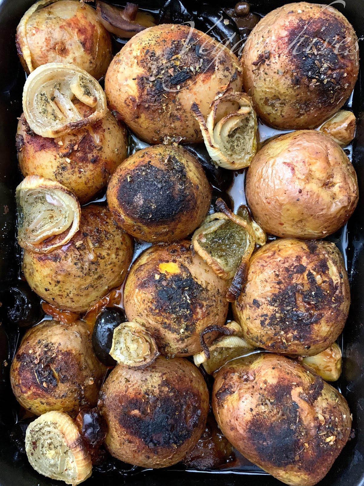 Pieczone ziemniaki La Bikini