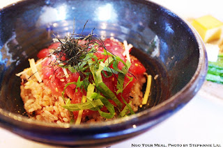 Wild Bluefin Tuna Donburi at Okonomi