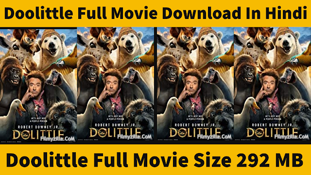 Dolittle Full Movie Download In Hindi 2021
