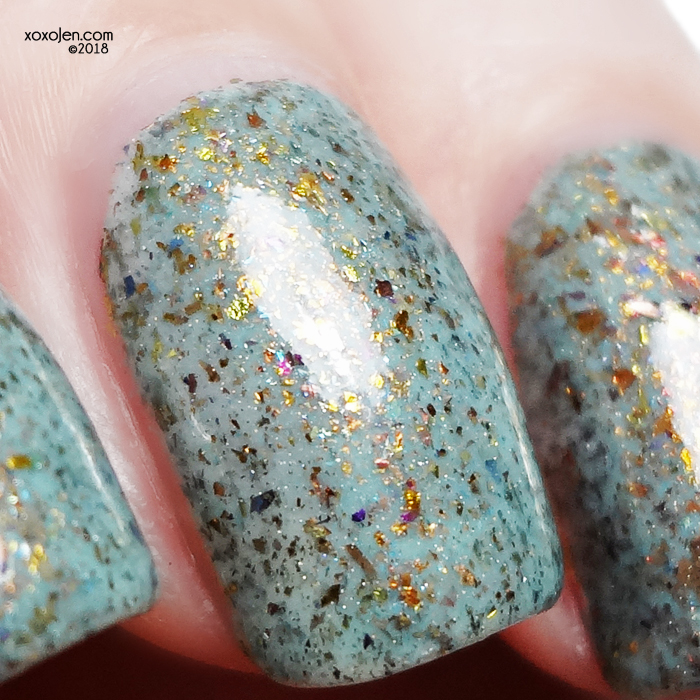 xoxoJen's swatch of Rogue Lacquer Retro Future