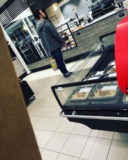 Mayor Of Odense Shopping Alone