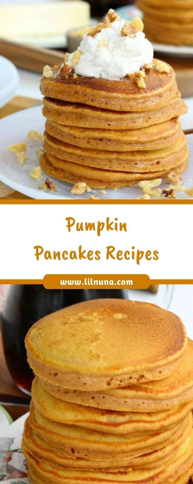 Pumpkin Pancakes Recipes