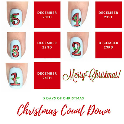 Christmas Count Down Nails