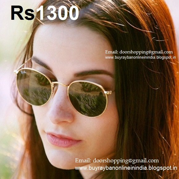 655792e5fa9 Ray Ban Round Metal Gold Green UNISEX Price 1300