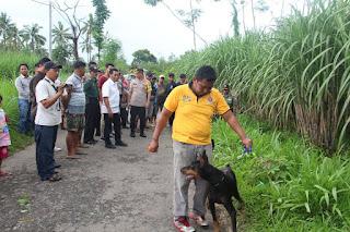 Marak Curwan Sapi,  Polres Lumajang Terjunkan Anjing Pelacak
