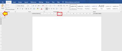 Cara Membuat Titik Dua Sejajar di Word 3
