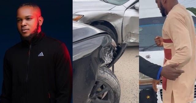 """""""It's sad that people find it difficult to differentiate between a prank and a life threatening issue"""" – Prankster, Zfancy laments after many assumed the ghastly accident he was involved in was a prank"""