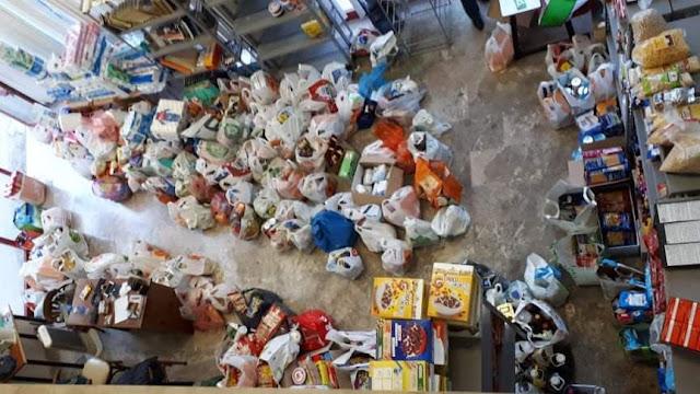 Κοινωνικό Παντοπωλείο Πολιτών Άργους: Με μεγάλη συμμετοχή η συλλογή τροφίμων για την πολύτεκνη οικογένεια