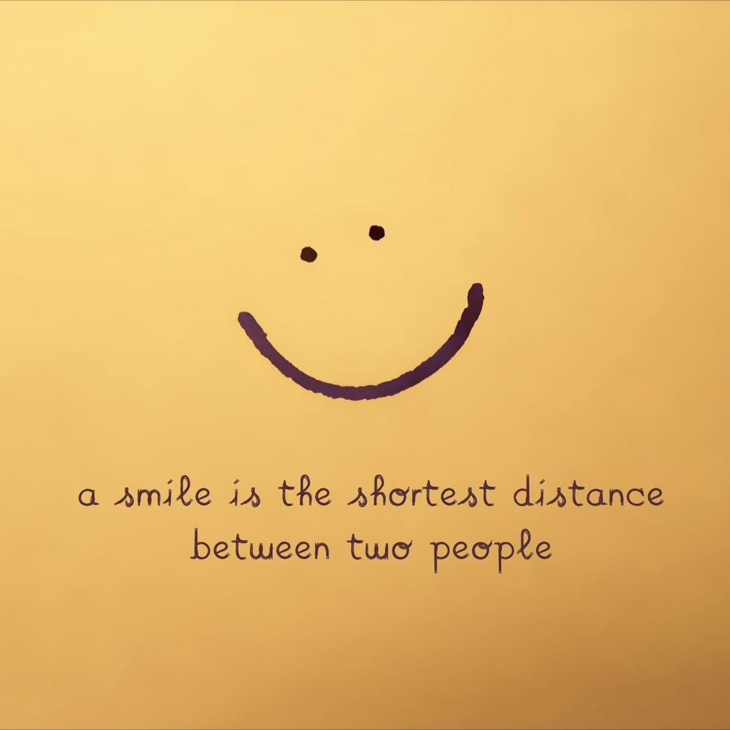 عبارات بالانجليزية عن الابتسامة