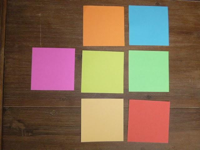 die sieben regenbogenfarben