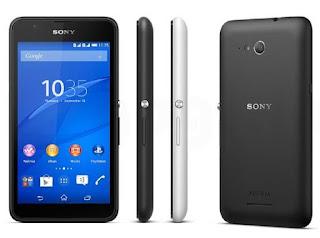Harga Sony Xperia E4g Dual, Smartphone Elegan Jaringan 4G LTE