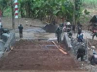 2 Hari Lagi Jembatan Dusun Kajor Selesai