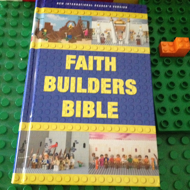 Bible NIrV New International Reader's Version Kids Children Building Lego Scripture God#HSReview #FaithBuilding #Bible #NIrV