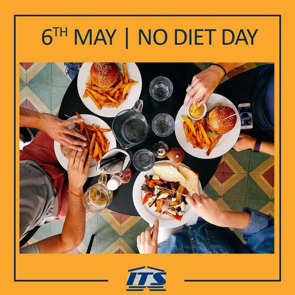 International No Diet Day Wishes Unique Image