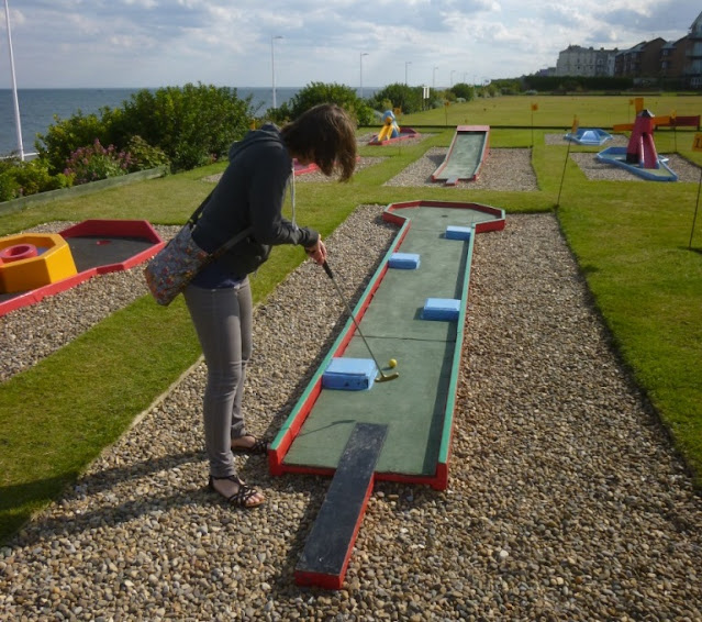North Marine Crazy Golf in Bridlington