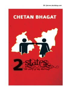 2 States The Story of My Marriage PDF Books By  Chetan Bhagat
