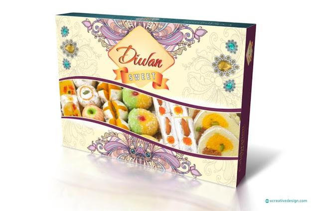 Seasonal Special Sweets Box Design