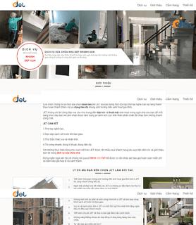 Giao diện Web Công ty - Theme Blogspot - Blogspotdep.com