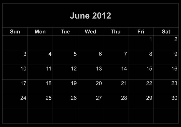 Free Monthly Calendar For 2013 Calendars Printfree Printable Monthly 2015 Free Printable Calendar 2017 June 2012 Calendar