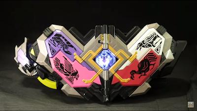 Dx Mass Brain ZetsumeRise Key & MetsuBoujinrai Driver Unit Demo Video