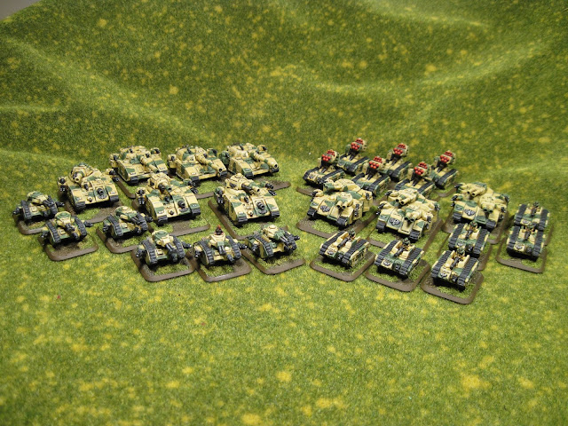 Epic Imperial Guard Armoured Company