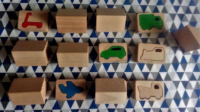 """zabawki dwulatka i przedszkolaka """"MEMO przestrzenne. Pojazdy"""", Epideixis"""
