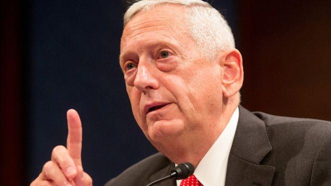 Trump names Gen James 'Mad Dog' Mattis as defence secretary