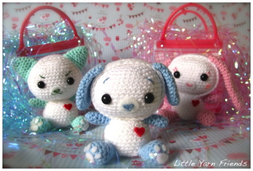 Free Amigurumi Dog Patterns : Cat dog bunny amigurumi patterns http: eveleder.com