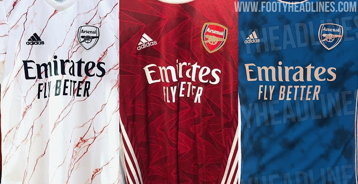 Off White Vs White Adidas Arsenal 20 21 Home Away Third Kits Leaked 10 Exclusive Pictures Footy Headlines